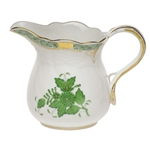Herend Chinese Bouquet Green Creamer