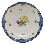 Herend Printemps Blue Salad Plate Motif #6