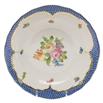 Herend Printemps Blue Dessert Plate Motif #1