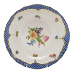 Herend Printemps Blue Dessert Plate Motif #3