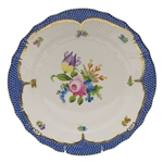 Herend Printemps Blue Dinner Plate Motif #4