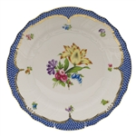 Herend Printemps Blue Dinner Plate Motif #6