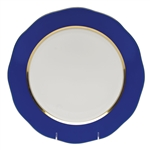 Herend China Cobalt Blue Charger Plate
