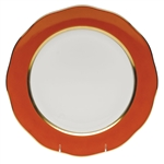 Herend China Pumpkin Charger Plate