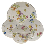 Herend Antique Iris Five Piece Place Setting Motif 1