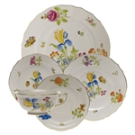 Herend Antique Iris Five Piece Place Setting Motif 3