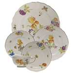Herend Antique Iris Five Piece Place Setting Motif 4