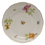 Herend Antique Iris Tea Saucer Motif #1