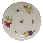Herend Antique Iris Tea Saucer Motif #2
