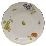 Herend Antique Iris Tea Saucer Motif #4