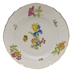 Herend Antique Iris Bread & Butter Plate Motif #3