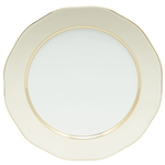 Herend China Beige Charger Plate