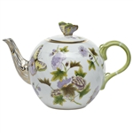 Herend China Royal Garden Tea Pot