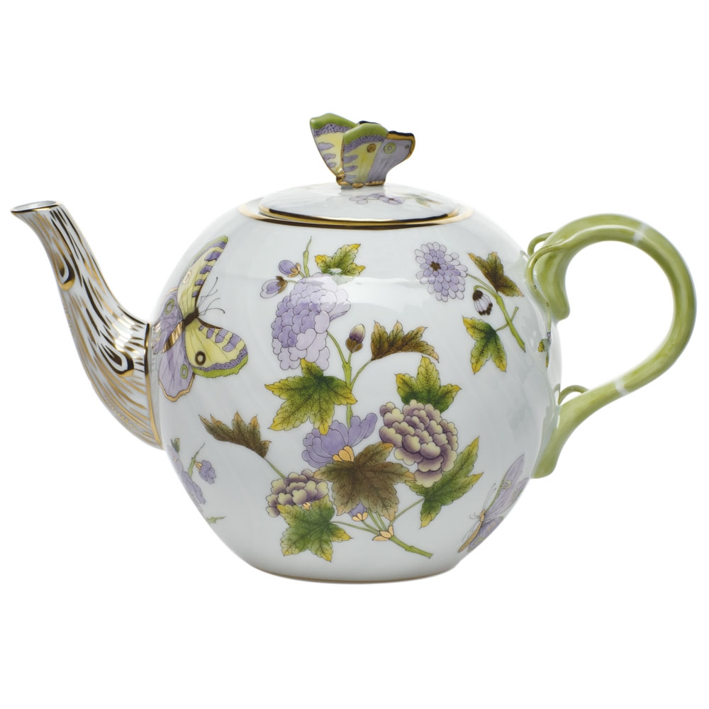 Herend China Royal Garden Tea Pot At Herendstore