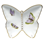 Herend China Royal Garden Butterfly Pin Dish