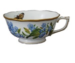 Herend American Wildflowers Blue Wood Aster Tea Cup