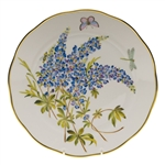 Herend American Wildflowers Texas Bluebonnet Dinner Plate