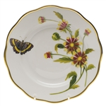 Herend American Wildflowers Indian Blanket Flower Salad Plate