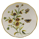 Herend American Wildflowers Indian Blanket Flower Dinner Plate