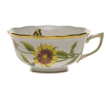 Herend American Wildflowers Indian Blanket Flower Tea Cup