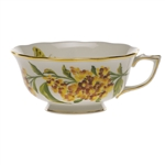 Herend American Wildflowers Butterfly Weed Tea Cup