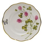 Herend American Wildflowers Red Clover Salad Plate