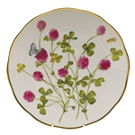 Herend American Wildflowers Red Clover Dinner Plate