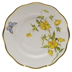Herend American Wildflowers Evening Primrose Salad Plate