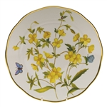 Herend American Wildflowers Evening Primrose Dinner Plate