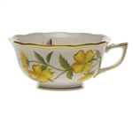 Herend American Wildflowers Evening Primrose Tea Cup