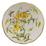 Herend American Wildflowers Meadow Lily Dinner Plate