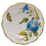 Herend American Wildflowers Morning Glory Salad Plate
