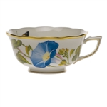 Herend American Wildflowers Morning Glory Tea Cup