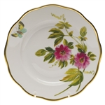 Herend American Wildflowers Passion Flower Salad Plate