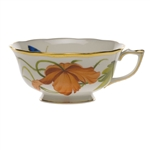 Herend American Wildflowers California Poppy Tea Cup
