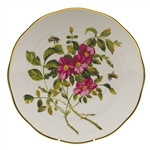 Herend American Wildflowers Prairie Rose Dinner Plate