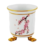 Herend Cherry Blossom Porcelain Mini Cashpot