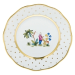 Herend China Asian Garden Bread & Butter Plate Motif 1