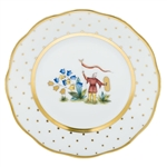 Herend China Asian Garden Bread & Butter Plate Motif 4