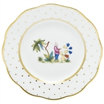 Herend China Asian Garden Salad Plate Motif 1
