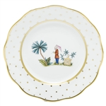 Herend China Asian Garden Salad Plate Motif 2