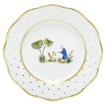 Herend China Asian Garden Salad Plate Motif 3