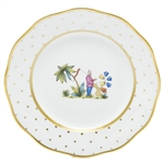 Herend China Asian Garden Dessert Plate Motif 1