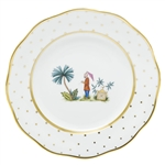 Herend China Asian Garden Dessert Plate Motif 2