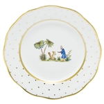 Herend China Asian Garden Dessert Plate Motif 3