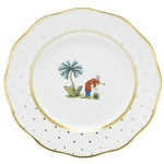 Herend China Asian Garden Dessert Plate Motif 6