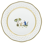 Herend China Asian Garden Dinner Plate Motif 3
