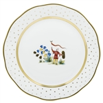 Herend China Asian Garden Dinner Plate Motif 4