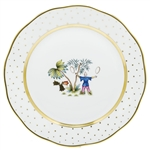 Herend China Asian Garden Dinner Plate Motif 5