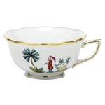 Herend China Asian Garden Tea Cup Motif 2